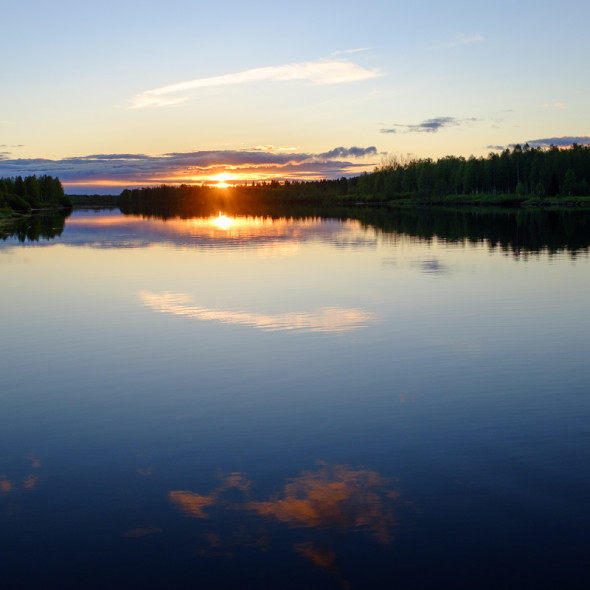 Sunset/rise