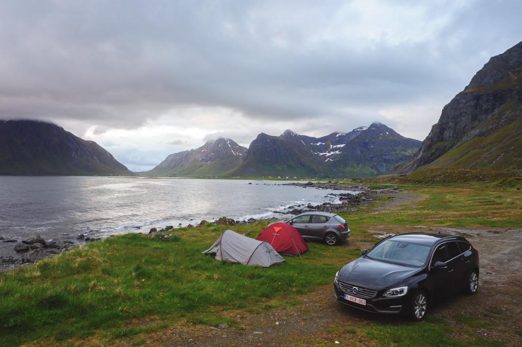 Camping at Lofotvegen?