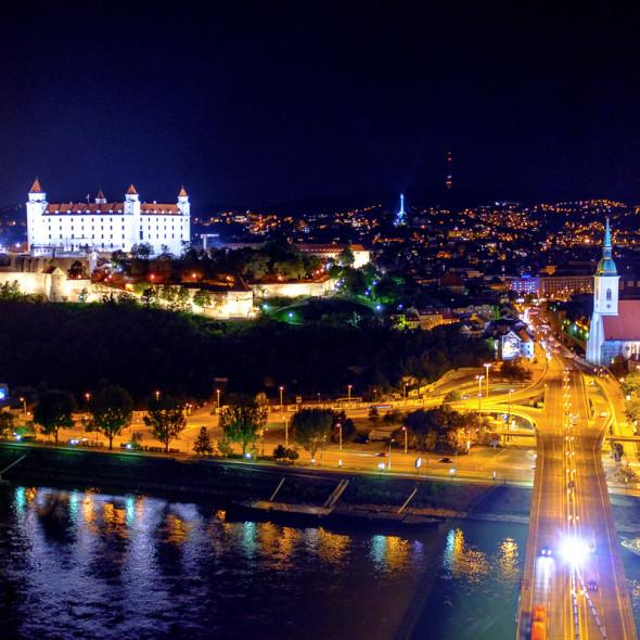The beautiful castle of Bratislava