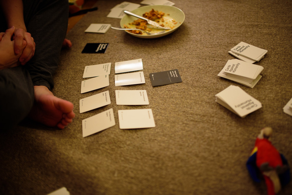 Cards against humanity (and Petteri)